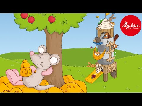 Die kleine Maus baut eine Rakete - eine Hörgeschichte für Kinder ab 2 Jahren