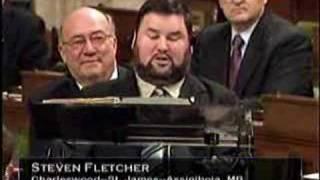 Steven Fletcher's vision