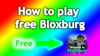 Roblox Welcome To Bloxburg Beta Free | Get Robux.m