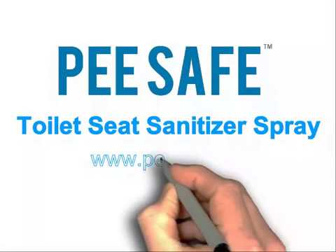 Pee Safe - A Solution to Safely Use Toilet Seats