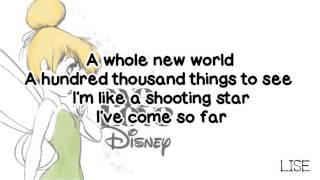 Yuna - A Whole New World (Lyrics)