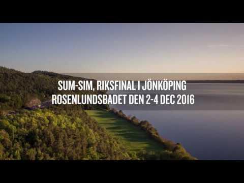 Sum-Sim Riksfinal Jönköping 2016