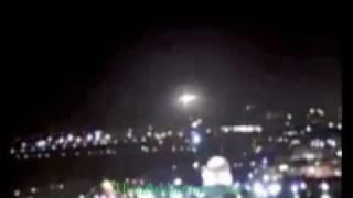 UFO Jerusalem (3rd video) Dome of the Rock Temple.mp4
