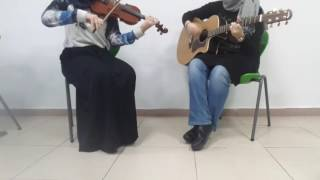Counting Stars~One Republic|Guitar and Violin cover by Zeynep EMRE & Feyza ŞAHİN
