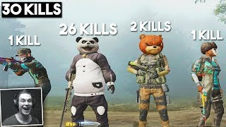 THEY DID NOT BELIEVE THIS!!   30 KILLS SQUADS   PUBG Mobile 🐼