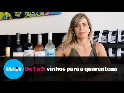 Cinco vinhos para degustar durante a quarentena