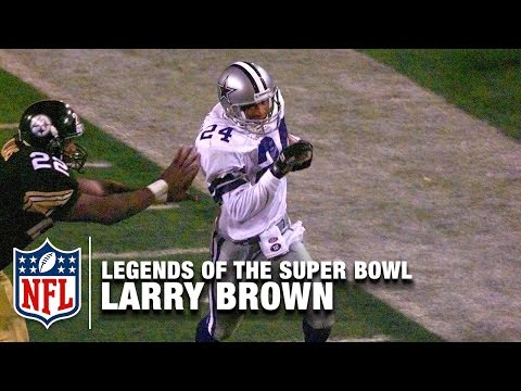 Legends of the Super Bowl: Larry Brown's MVP Performance in Super Bowl XXX | NFL NOW