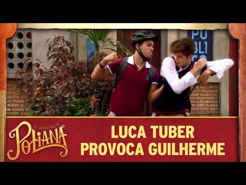 Luca Tuber provoca Guilherme   As Aventuras de Poliana
