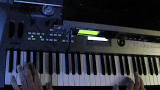 Russian Privjet played live on keyboard ( Through Motif-Rack )