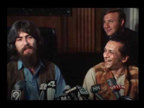 50 years ago today George Harrison and Ravi Shankar held the Concert For Bangladesh