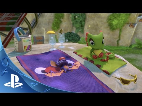 WTFF::: Yooka-Laylee Review -- A Fun, Familiar, and Nostalgic Trip to a Genre from the Past