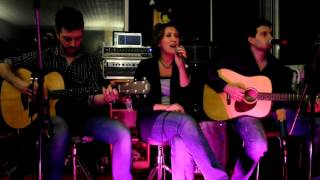 All around the world (Sagi Rei) acoustic cover by SAhaRA acoustic trio