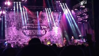 All I want (live). The Offspring. Viveiro 2016