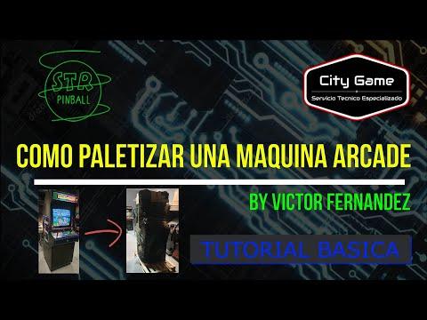 #8-TBA Como paletizar una maquina arcade by Victor Fernandez