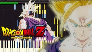Dragon Ball Z OST - Gohan Angers | Piano Tutorial, ドラゴンボールZ【ピアノ】