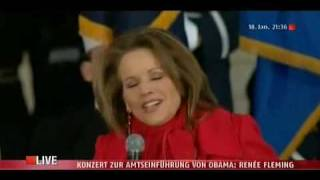 Renée Fleming  -   You ll Never Walk Alone  - The Obama Inaugural Celebration Concert (LIVE)