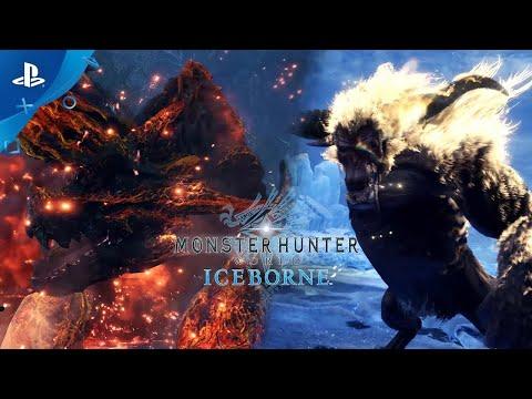 Monster Hunter World: Iceborne - Brachydios Colérico & Rajang Furioso | PS4