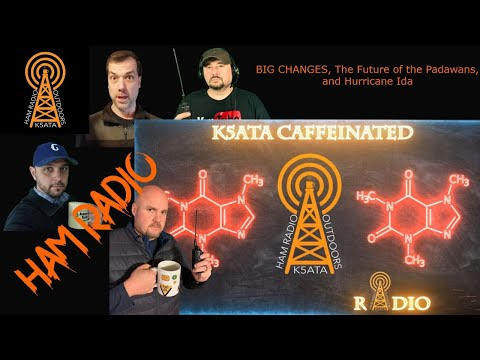 Caffeinated Radio: Big Changes, The Future of the Padawans, and Hurricane Ida