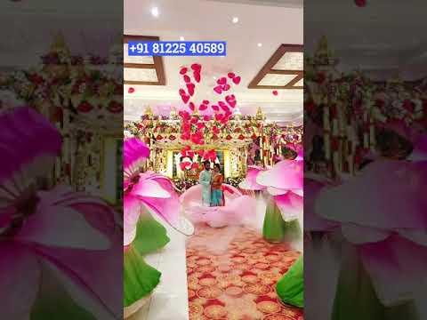 Love Bomb Balloon Bride Groom Entry in Chennai | Coimbatore | Bangalore | Hyderabad +91 81225 40589
