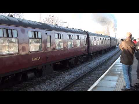 The York Yuletide Express at March with Union of South Africa 13/12/2012