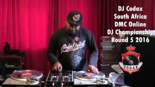 DJ Codax - DMC Online DJ Championship 2016 Round 5 (South Africa)