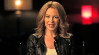 Kylie Minogue 'Kiss Me Once' Message
