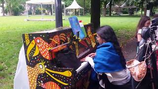 This year's love (David Gray/Katie Melua, public piano cover) | Play me, I'm yours Geneva