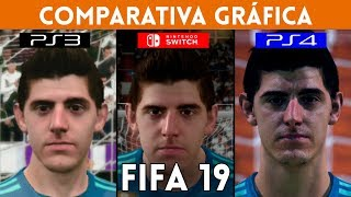 FIFA 19 PS3 vs Nintendo Switch vs PS4: COMPARATIVA de GRÁFICOS
