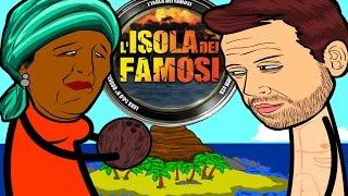 L'isola dei famosi parodia-Come aprire un cocco