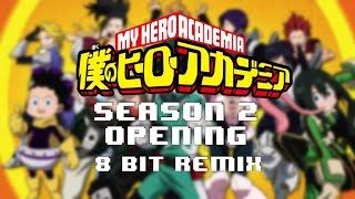 Boku No Hero Academia - Season 2 Opening 【Peace Sign】 8 Bit Remix (FamiTracker VRC6+MMC5)