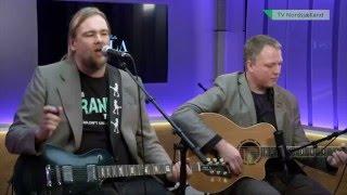 Ste van Holm 'Transatlantic'. Acoustic performance at TV Nordsjælland
