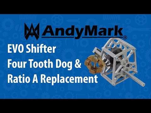 EVO Shifter Four Tooth Dog & Ratio A Replacement