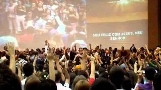 """Fernandinho na Igreja Nazareno Central - 12/07 """"Sou Feliz"""""""