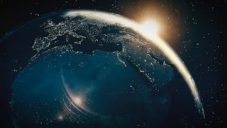 3D intro without text / rising of earth scene/ apparant rising of sun|| download link given