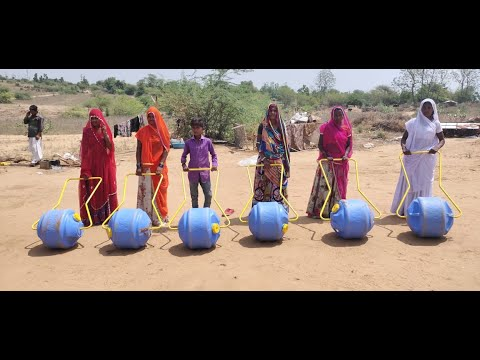 VSSM Provide Water Wheel to Nomadic Tribe BBC Story