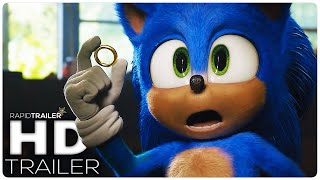 SONIC THE HEDGEHOG Official Trailer #2 (2020) Jim Carrey, Live Action Movie HD