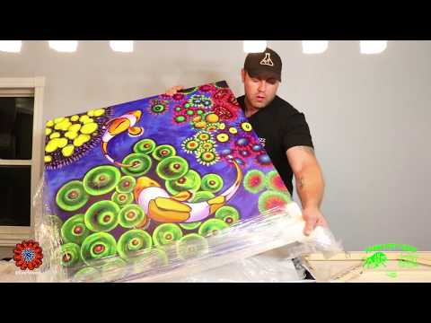 Reefweeds Reef Koi Unboxing amazing Uv reef art has arrived!!!!