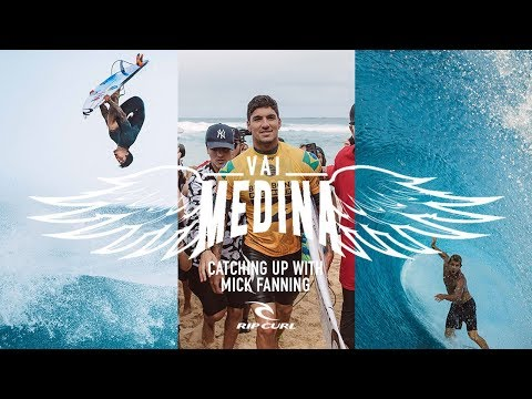 Behind The Scenes with Gabriel Medina | As told by Mick Fanning | #VaiMedina