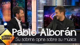 La persona a la que Pablo Alborán siempre consulta antes de sacar canción - El Hormiguero 3.0