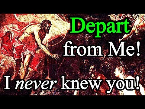 I Never Knew You; Depart from Me, You Who Practice Lawlessness - Matthew Henry