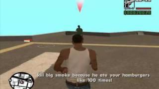 GTA San Andreas:big smoke commits suicide
