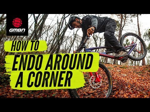 How To Endo Round A Corner | MTB Skills