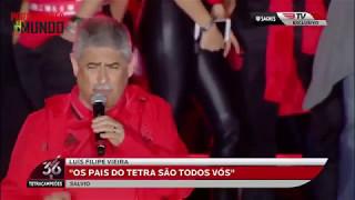 SL. benfica presidente Luis Filipe Vieira discurso do tetra campeonato marques pombal