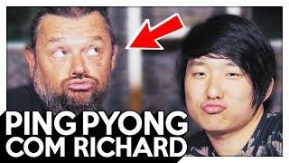 O ANIMAL QUE O RICHARD MAIS TEM MEDO! PING PYONG - 287