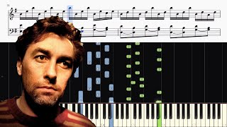 Yann Tiersen - Comptine d'un autre été (Amélie) - Piano Tutorial + SHEETS