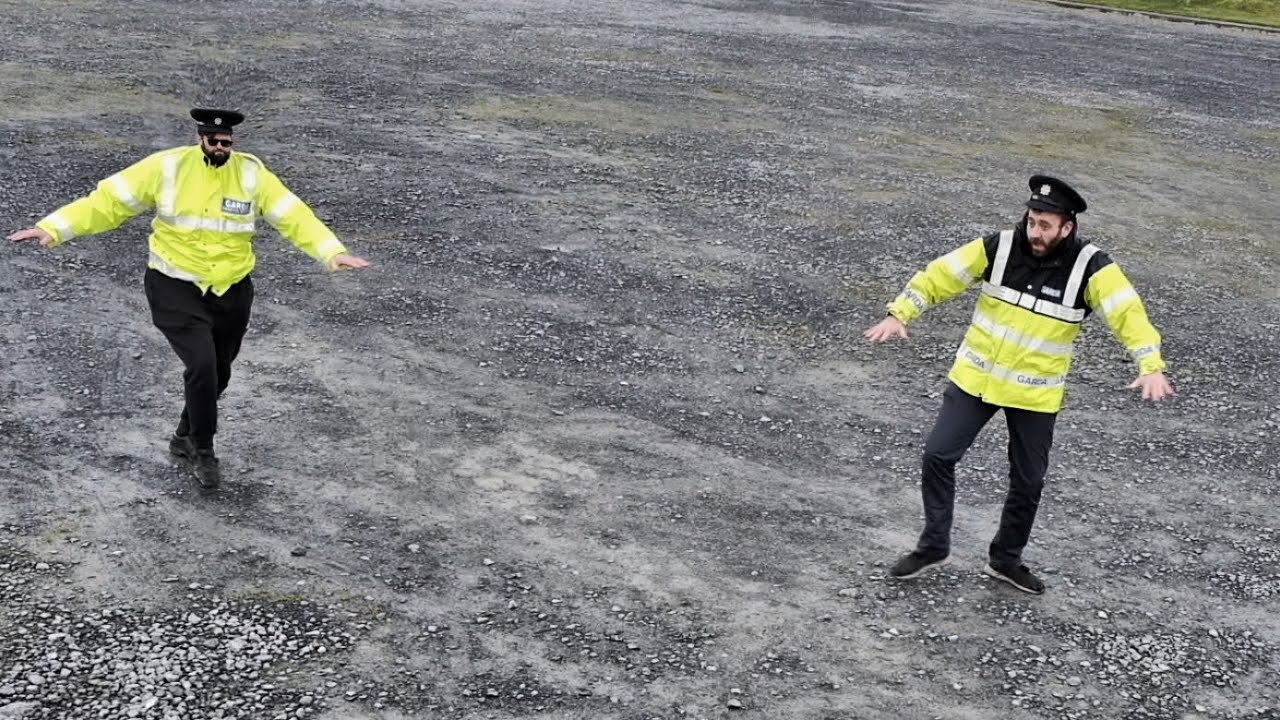 All Gardaí were 100% Might have been off Duty for this Dance – 😂😂