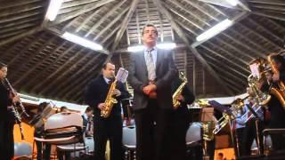 Hino Sr. Santo Cristo Milagres (excerto) - BANDA RECREIO ESPIRITUENSE 2012 (Santa Maria Açores)