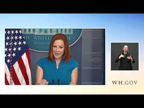 04/20/21: Press Briefing by Press Secretary Jen Psaki