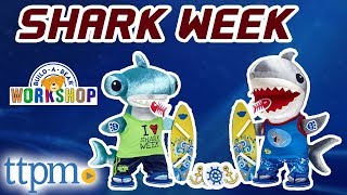 Build-A-Bear Shark Week - Great White and Hammerhead Sharks [REVIEW] | Build-A-Bear Workshop