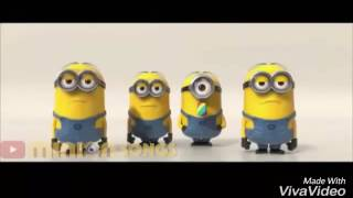 "Minons Singing ""Fetty WAP"" [Come My Way] 2017"